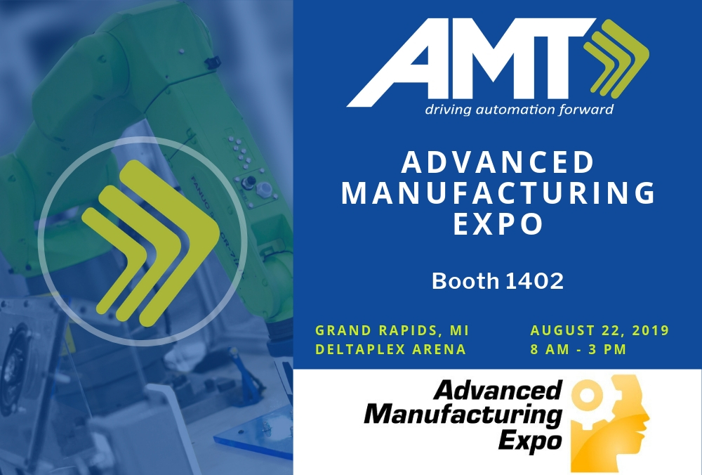 AMT to exhibit at Advanced Manufacturing Expo August 22, 2019