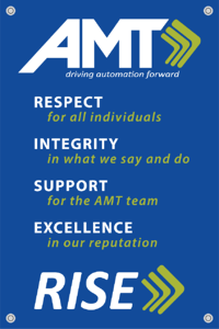AMT Core values poster