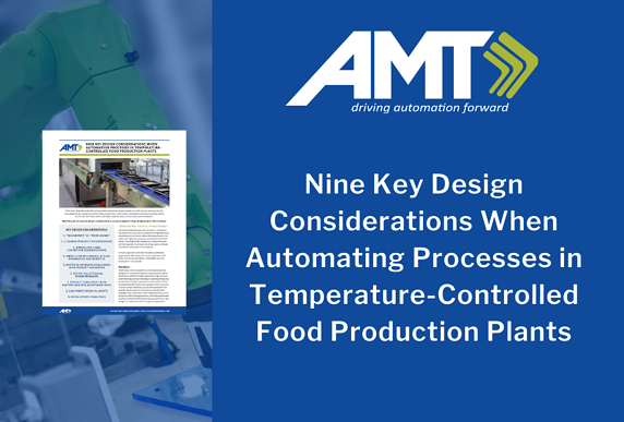 AMT design considerations food processing plants