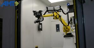 AMT laser marking FANUC robot
