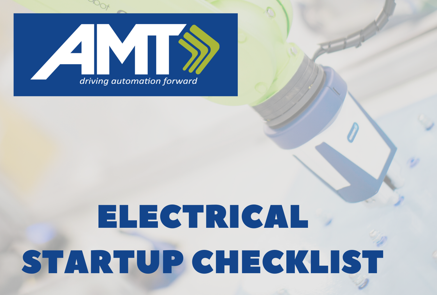 Copy of AMT Electrical Startup Checklist