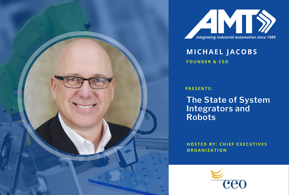 AMT Mike Jacobs CEO robot presentation
