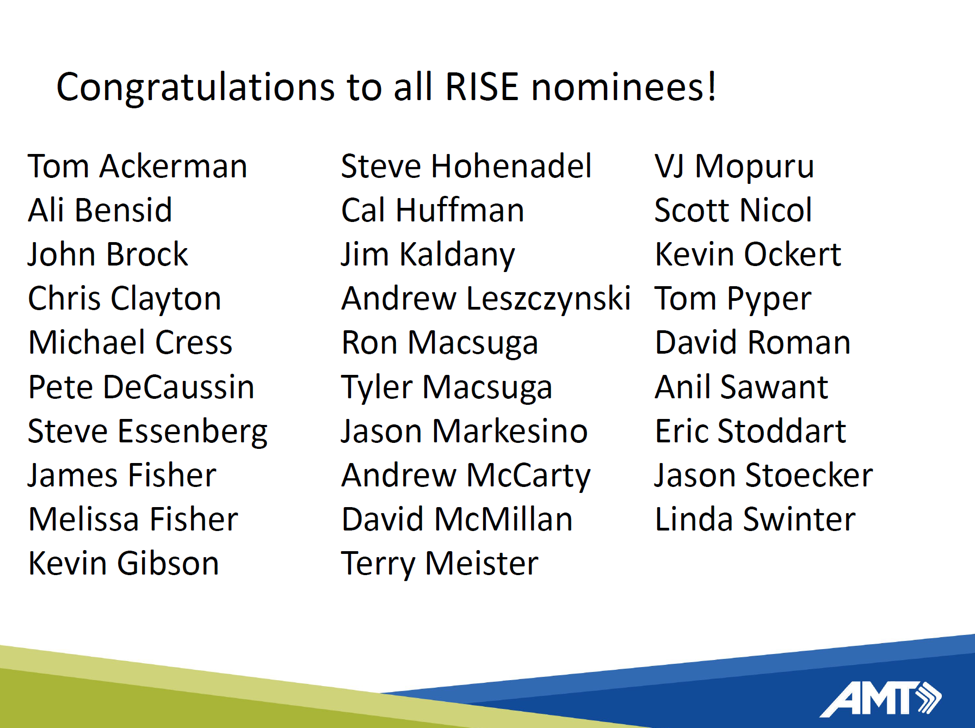RISE nominees