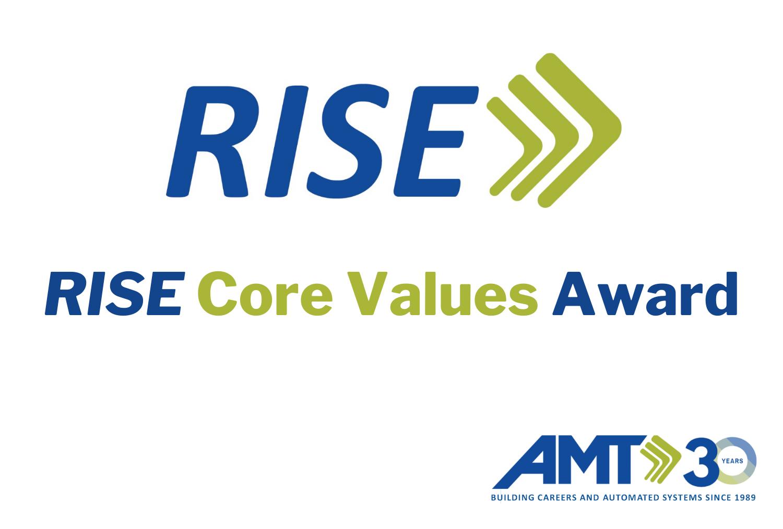 AMT RISE core values